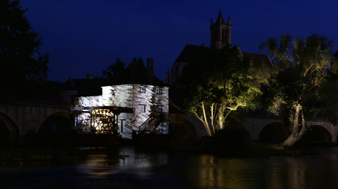 moret sur loing reflets julia dantonnet creation lumiere video 4