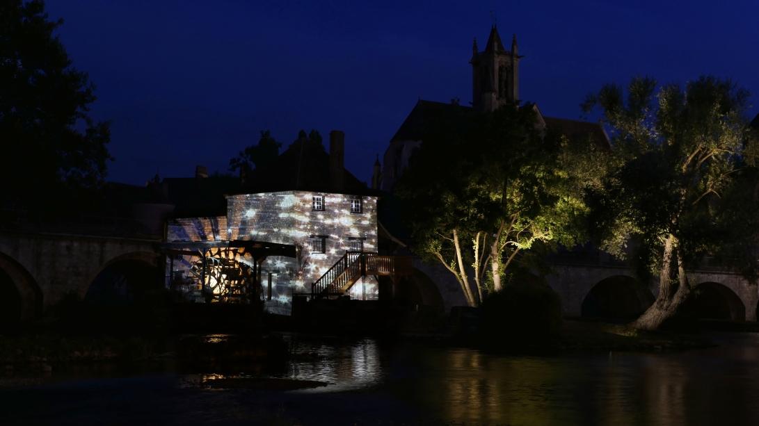 moret sur loing reflets julia dantonnet creation lumiere video 6